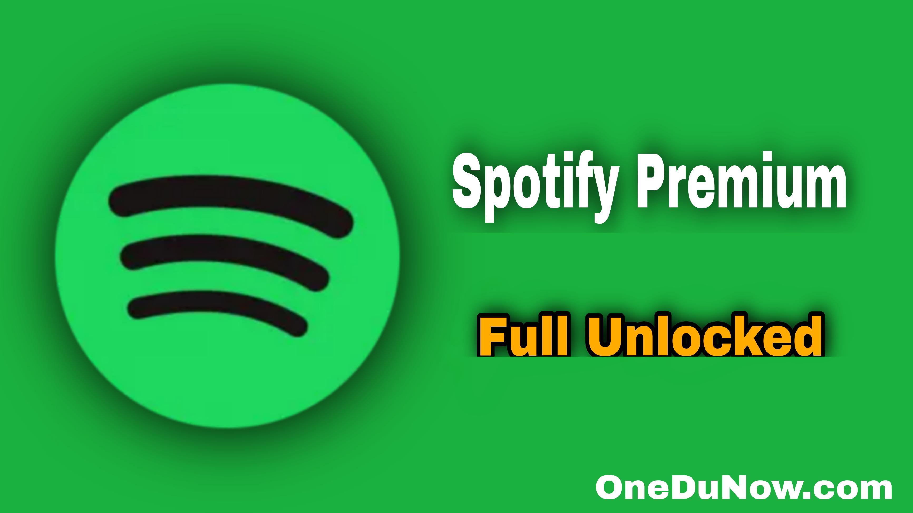 Spotify Music (Latest Mod Unlocked)
