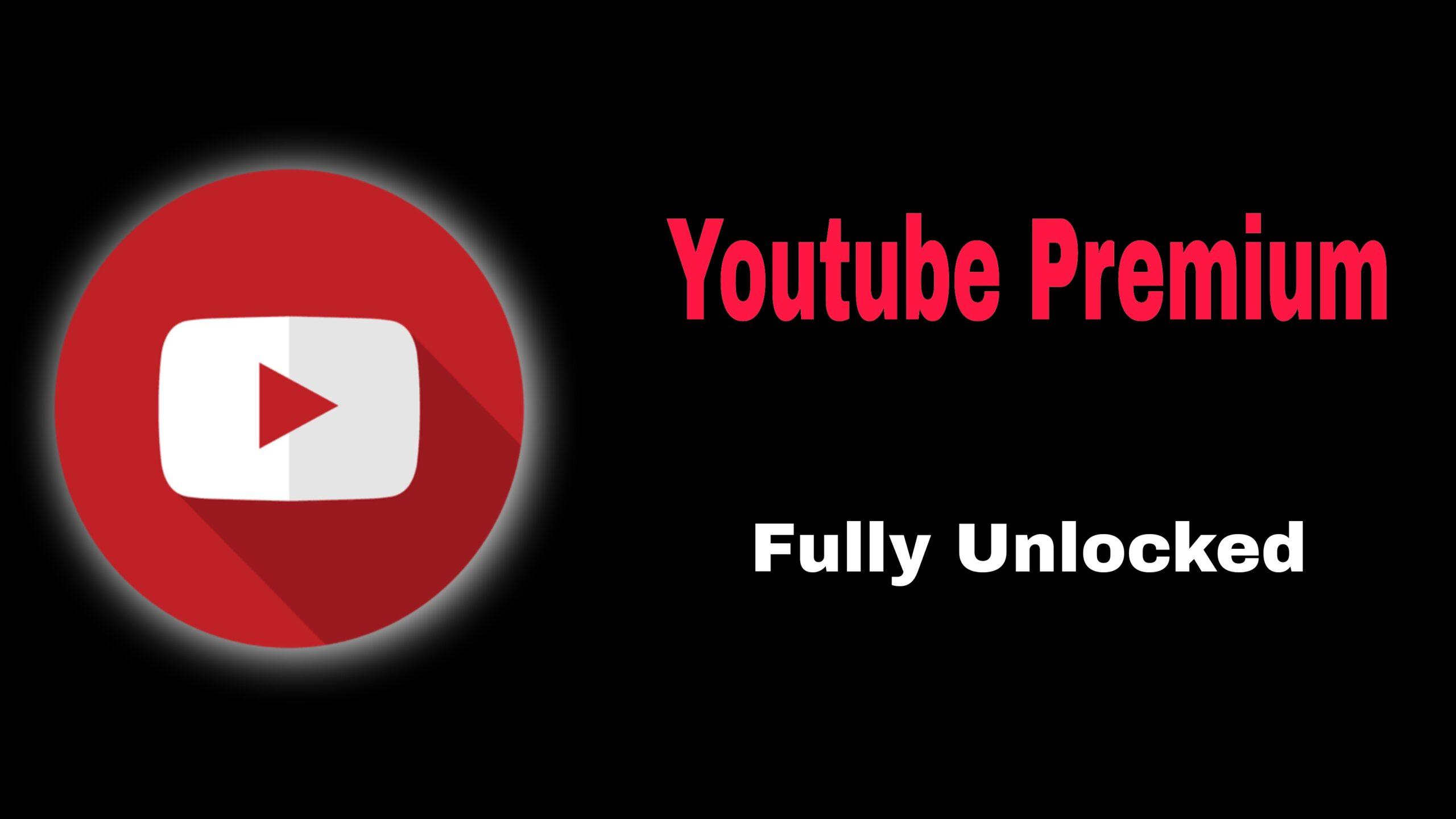 YouTube Premium (MOD, Full Unlocked)