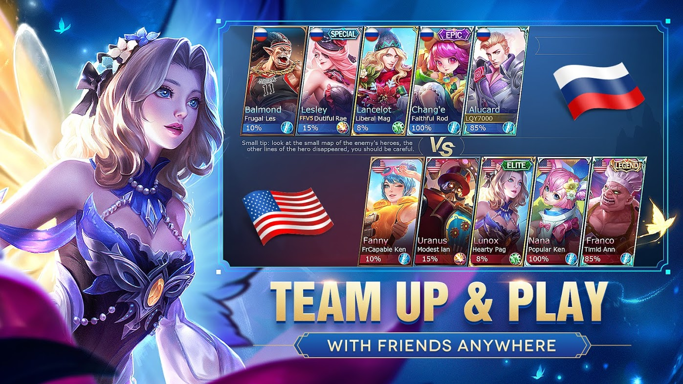 Mobile Legends: Bang Bang (For Android)