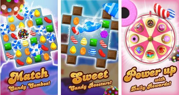 Candy Crush Saga (For Android) 2021