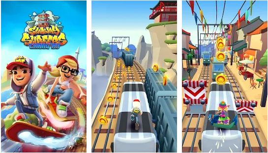 Subway Surfers (Unlimited Coins/Keys)