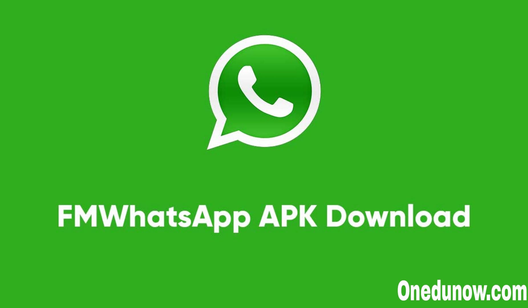 FMWhatsApp APK Download (Latest Version) September 2021