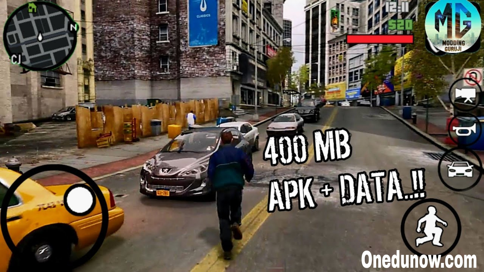 GTA 4 Mod Apk Download (Unlimited Money) 2021